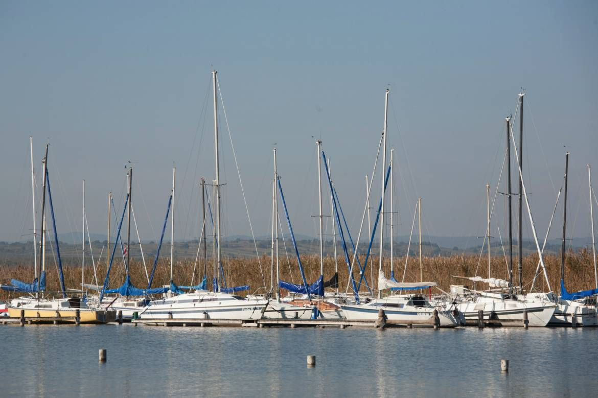 Segellager in Podersdorf